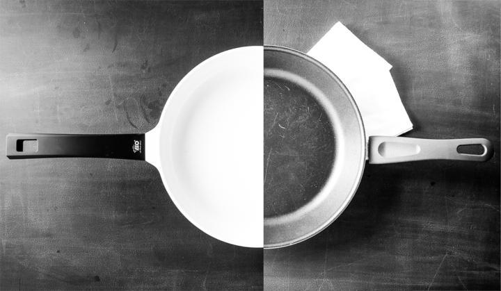 Keramikpfanne vs. Teflonpfanne