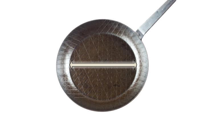 Innenspiegel Pfannendurchmesser