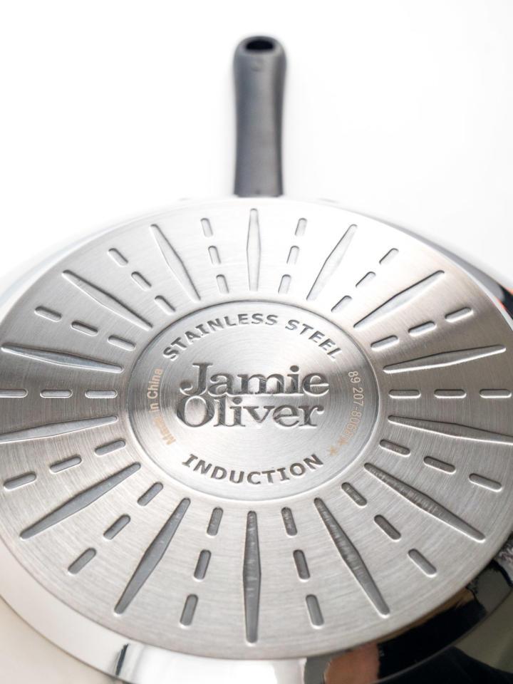Tefal Jamie Oliver Wokpfanne Pfannenboden
