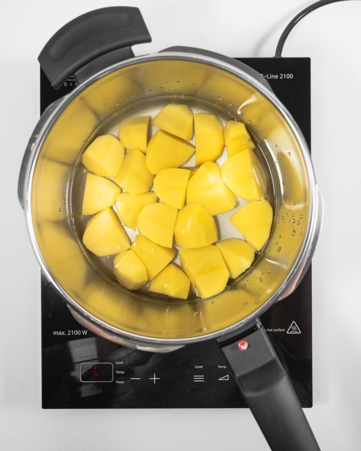 Fissler vitaquick Kartoffel Test