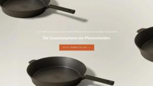 Die STUR-Pfanne ist jetzt vorbestellbar unter sturcookware.de